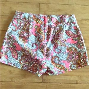 High waisted Paisley Shorts from H&M